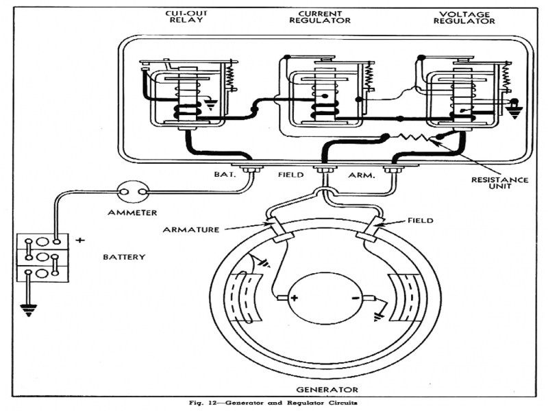 wiring diagrams 1 wire alternator hook up delco cs130