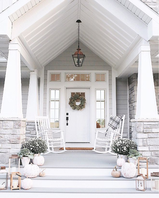 Instagram Fall Decorating Ideas House With Porch Modern