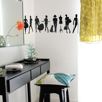 Fashion Wall Sticker, $39, now featured on Fab.