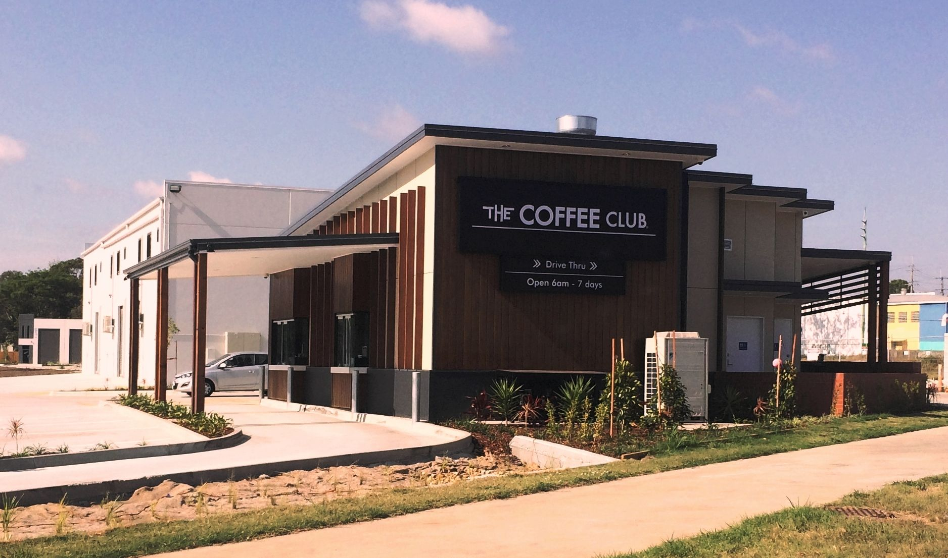 The Coffee Club Now Has Summit Innovations Drive Thru Technology Installed At Their Brand New Tingalpa Store On Th Coffee Shop Design Coffee House Coffee Store