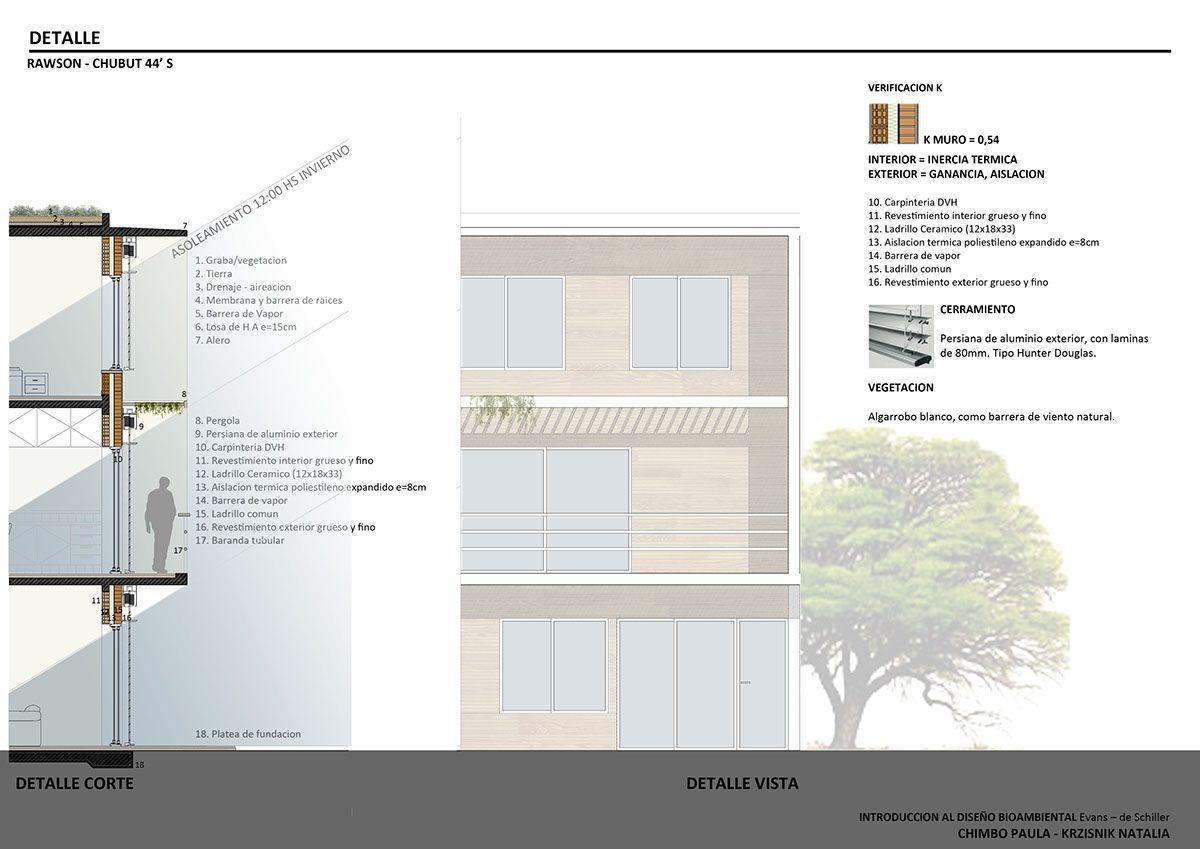 Viviendas En Rawson Diseno Bioambiental On Behance Floor Plans Argentina