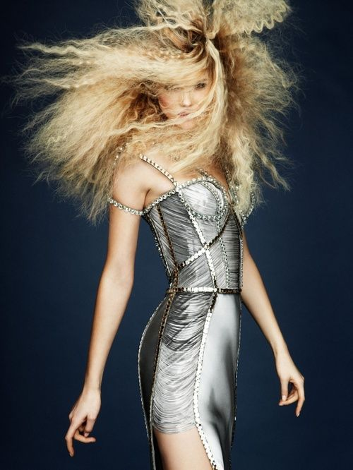 Kasia Struss for Atelier Versace Spring 2010