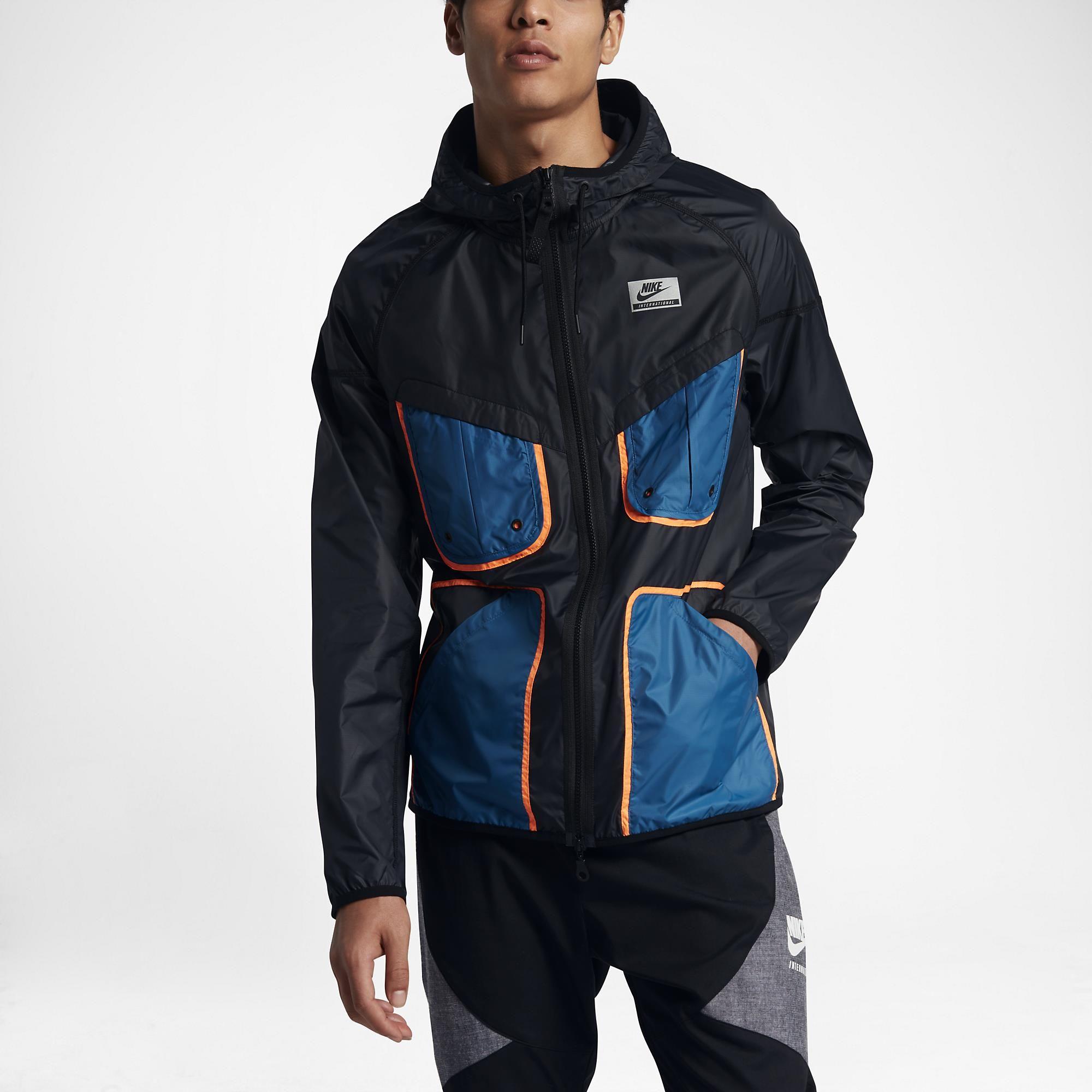 0306acb527 Jaqueta Nike International Wrangler HD Masculina