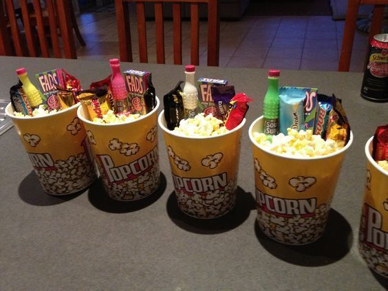 19 DIY Movie Date Night Ideas At Home Birthday Party For Teens
