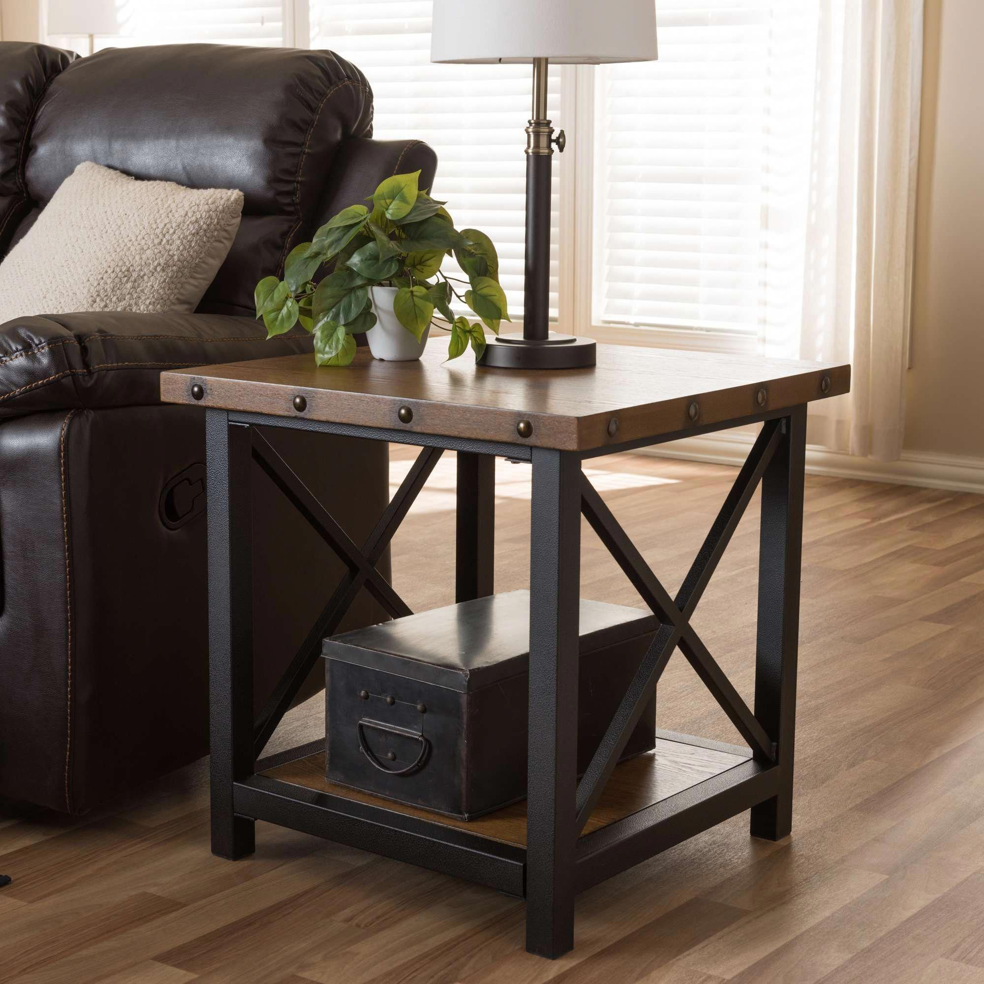 Furniture Warehouse Orlando Id 5412547870 Wood End Tables Farmhouse End Tables Industrial Style Furniture