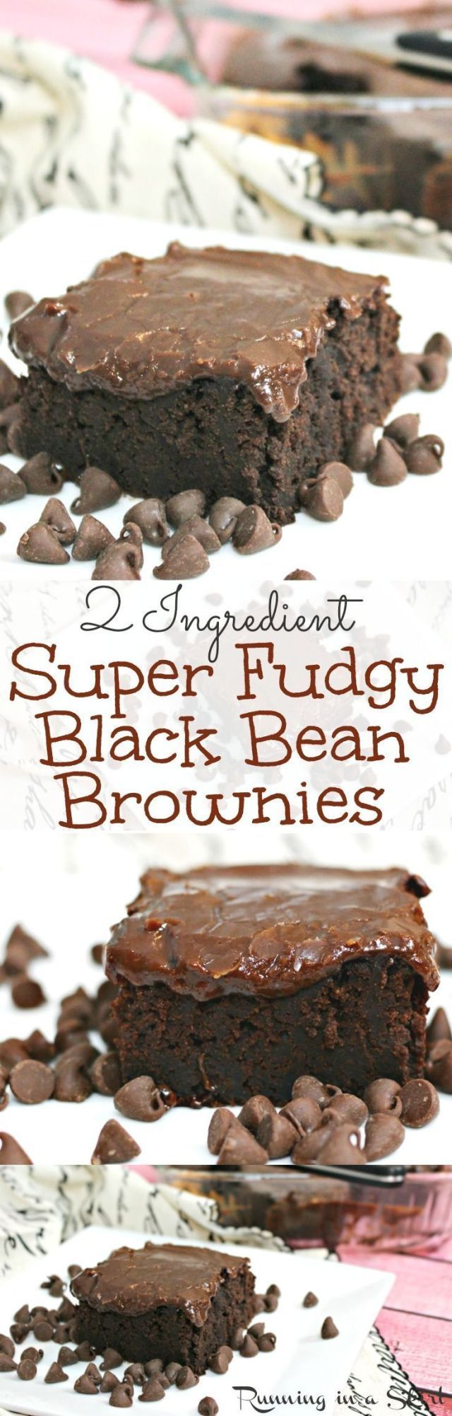 2 Recipe for ingredient Black Bean Brownies with homemade healthy fudge icing. Amaz   The post 2 Re