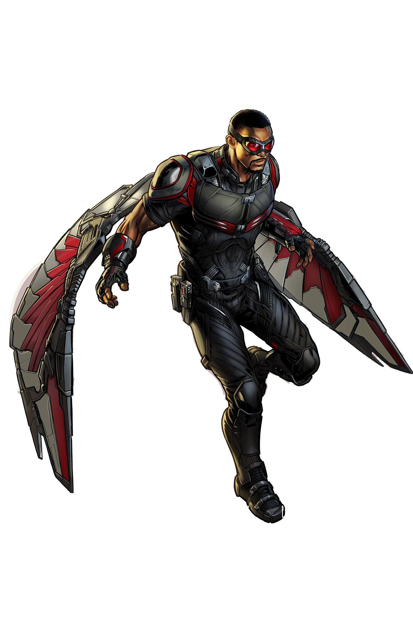 Falcon superheroes pinterest marvel avengers - Faucon avengers ...