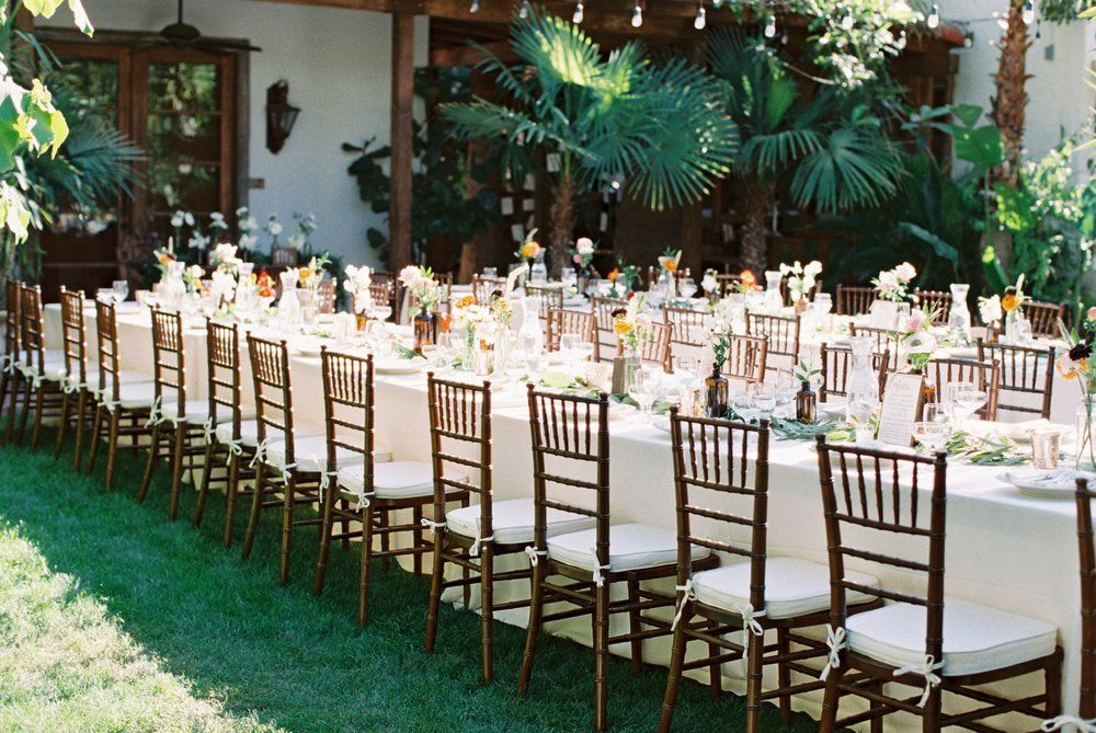 Pin by Nancy on wedding flowers Outdoor wedding tables