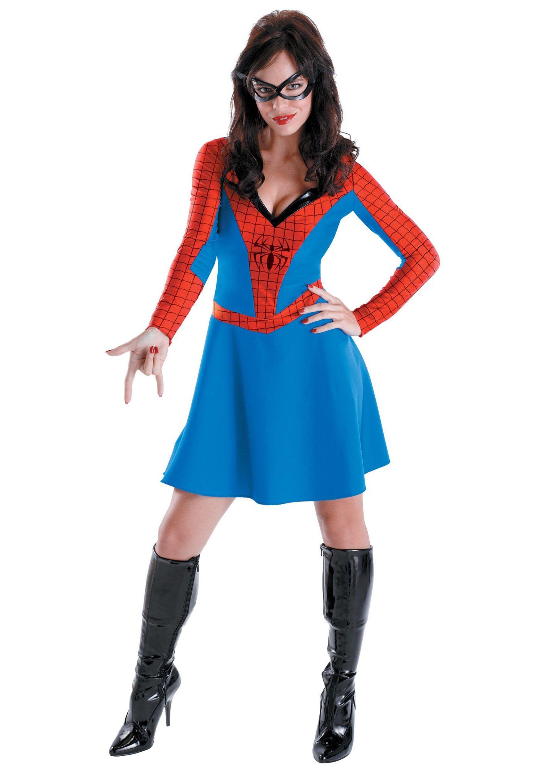 womens spider girl costume halloween - Spider Girl Halloween Costumes