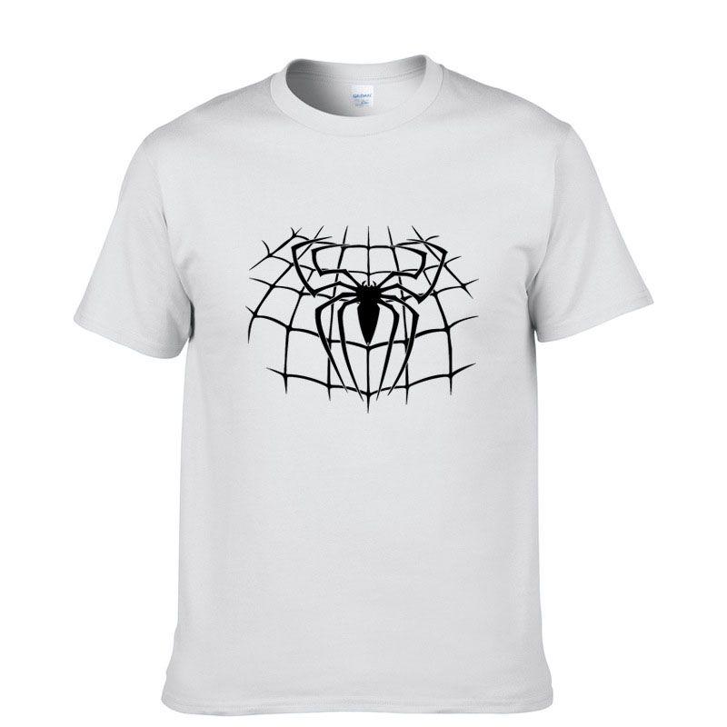 Spiderman Fashion Print 100% Cotton Men's T-shirt