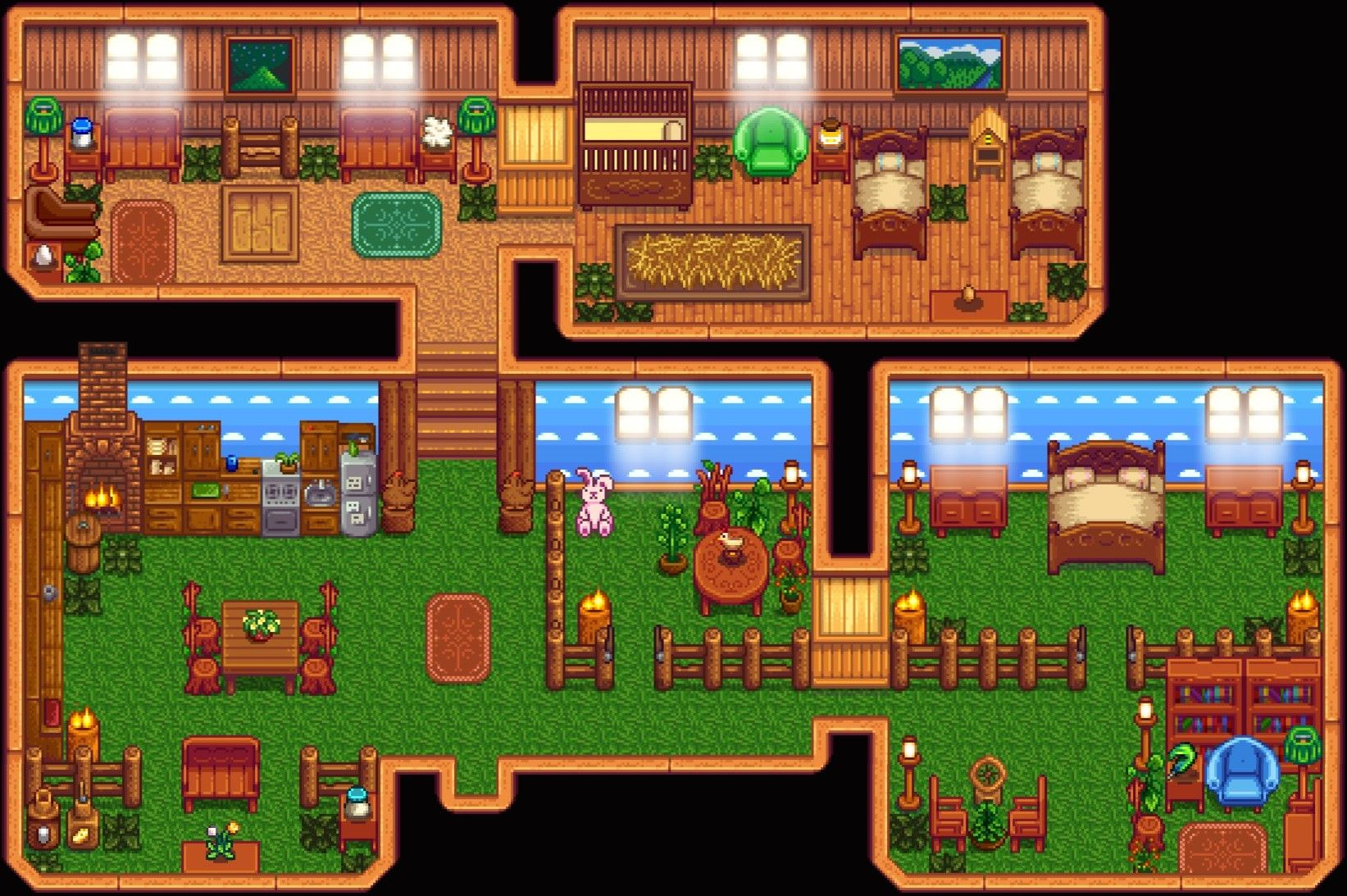 Image Result For Stardew Valley Home Layout Jogos