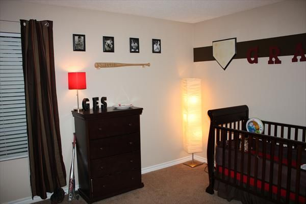Boys Baseball Bedroom Ideas baseball house decorations - house and home design