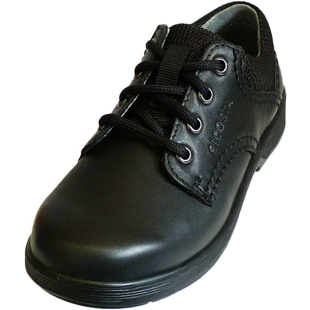 ricosta boys black school shoes harry weit wide