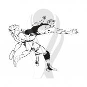 Standardmotiv Wrestler Kampf http://www.helm-pokale.de/ringen-c-3325-5.html