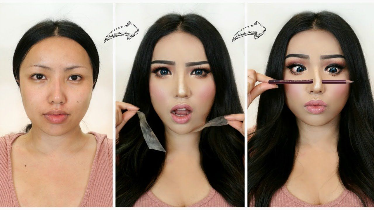 I Followed Viral Asian Makeup Transformations Youtube With