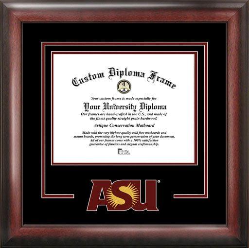 Arizona State University Diploma Frame - College Logo - Spirit Mat ...