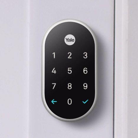 Keyless Lock By Yale Nest Yale Keyless Door Lock Keyless