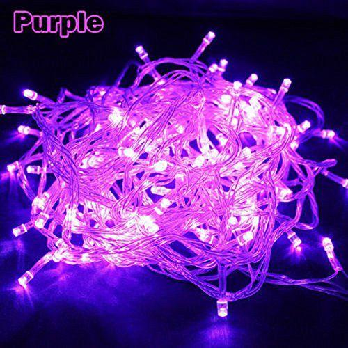 Wentop 10M 33FT 100 LED Fairy String Lights Christmas Wedding Party Xmas Decoration Purple with Tail Plug WenTop http://www.amazon.com/dp/B00K9KO2VO/ref=cm_sw_r_pi_dp_odF7wb075K948