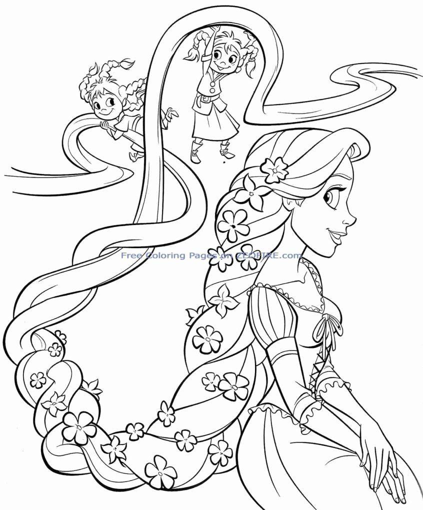 All Disney Princesses Coloring Pages Unique Coloring Free Printable Coloring Pages Disney Princesses Rapunzel Buku Mewarnai Warna