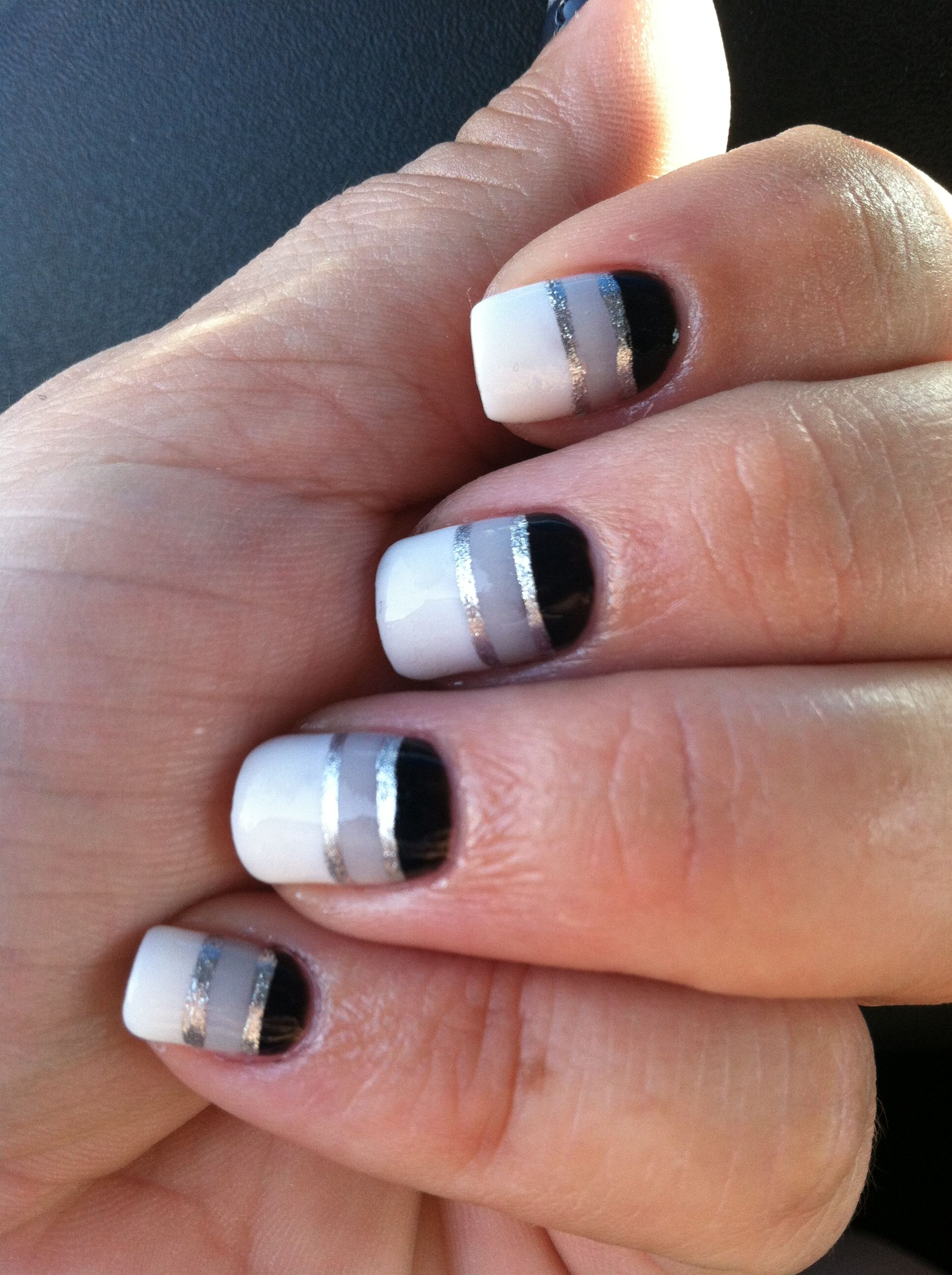 My new gel manicure design for the week- my girl hooks me up! Loved ...