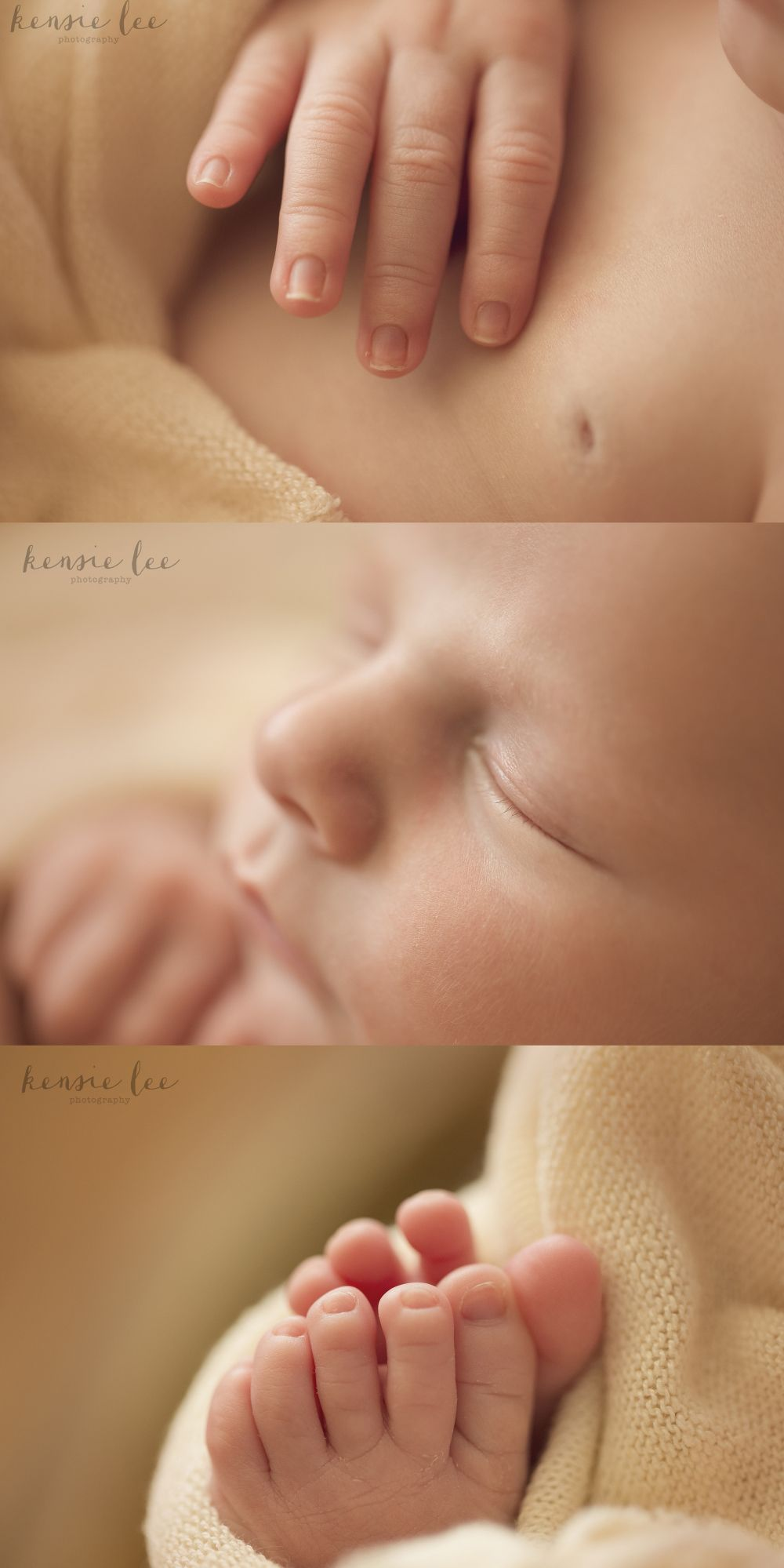 Newborn macro photos