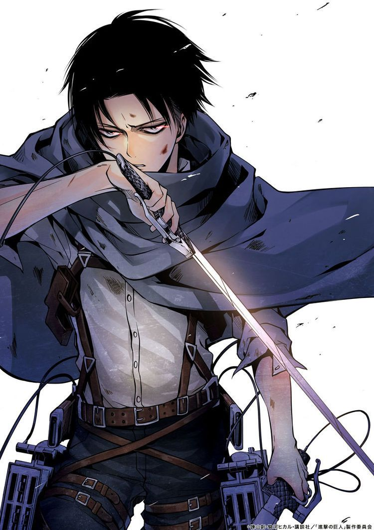 Attack Levi Gaiden Repenting Choice Appears In Full Version Full Color Full Version Attack On Titan Fanart Attack On Titan Levi Attack On Titan Art