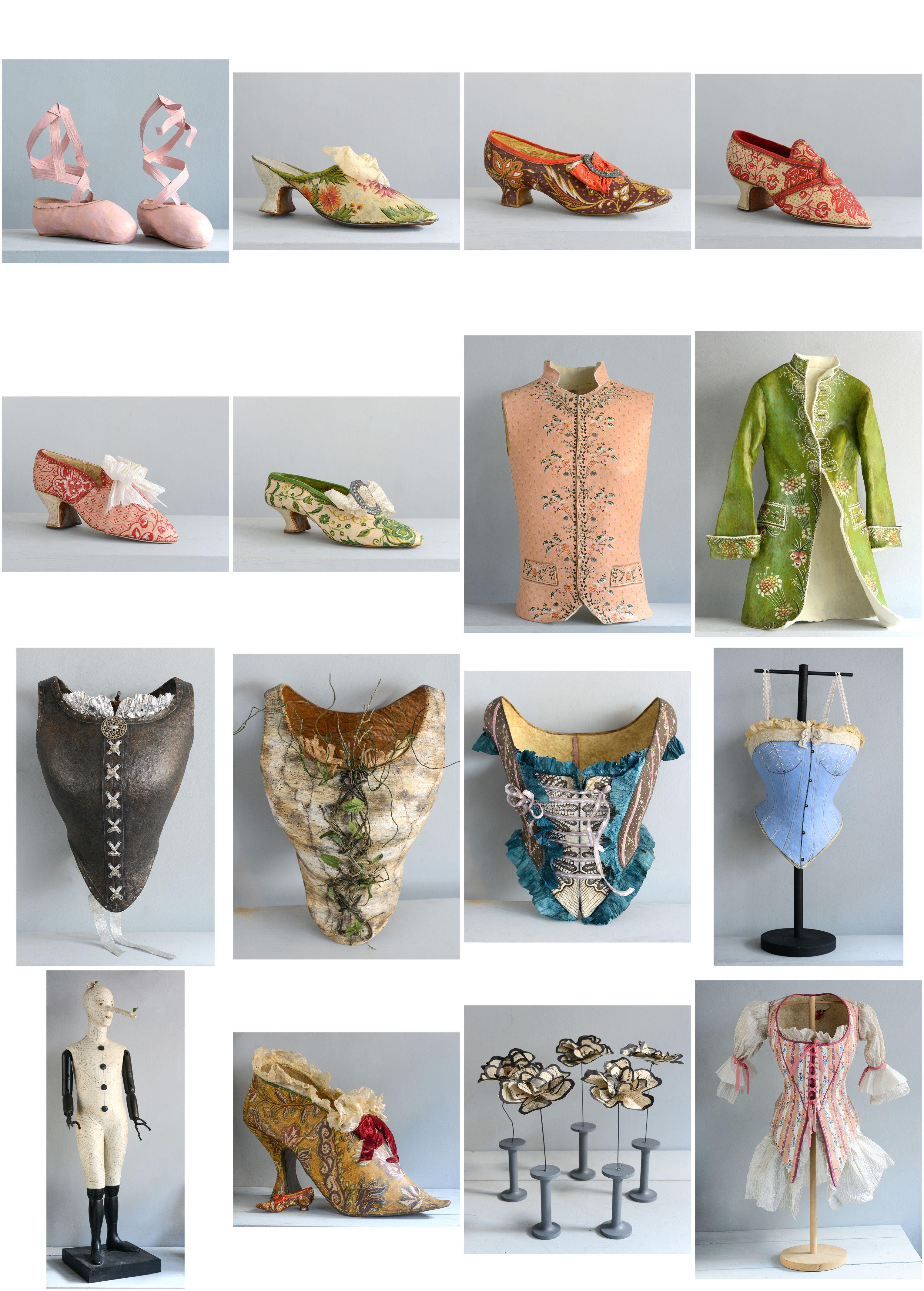 Sculptures en papier-mâché www.melaniebourlon.com