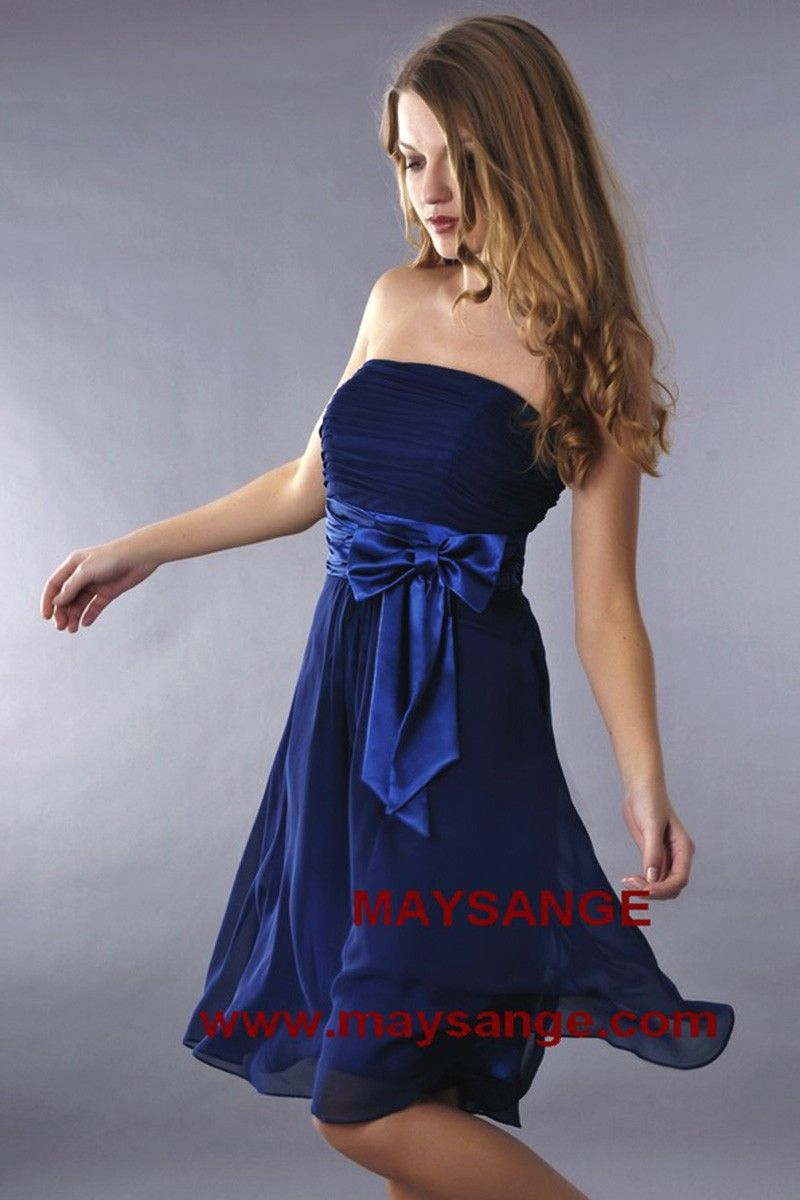 1af03ce2eae Robe bleu électrique-robe de cocktail-maysange