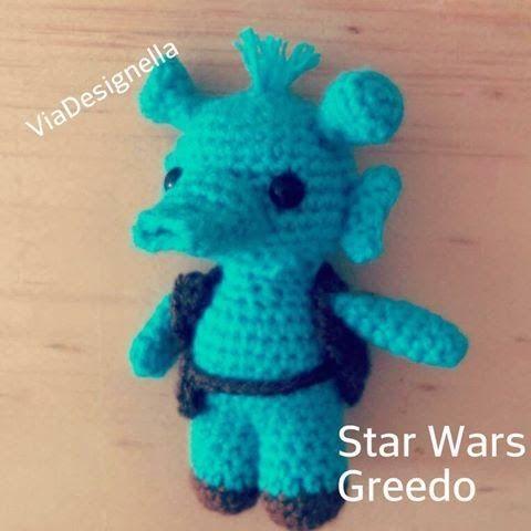 Vía Designella   : Star Wars Greedo Amigurumi FREE PATTERN