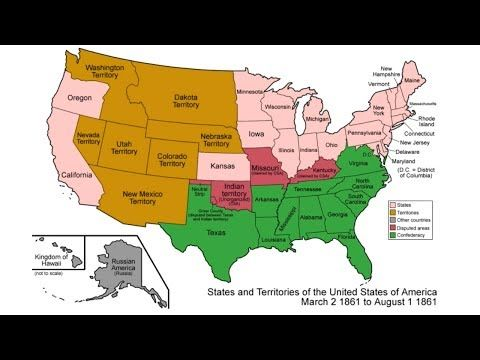 Americas Territorial Expansion Mapped 17892014 YouTube