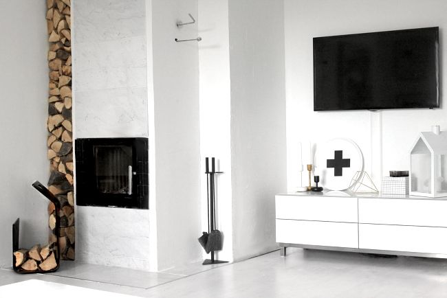 modern marble fireplace pia walln crosstray normann copenhagen lighthouse u0026 iittala nappula