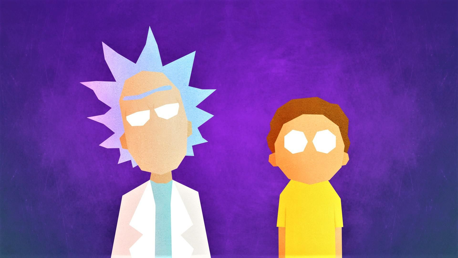 Rick And Morty Minimalist 1920x1080 In 2020 Rick And Morty Poster Morty Smith Rick And Morty
