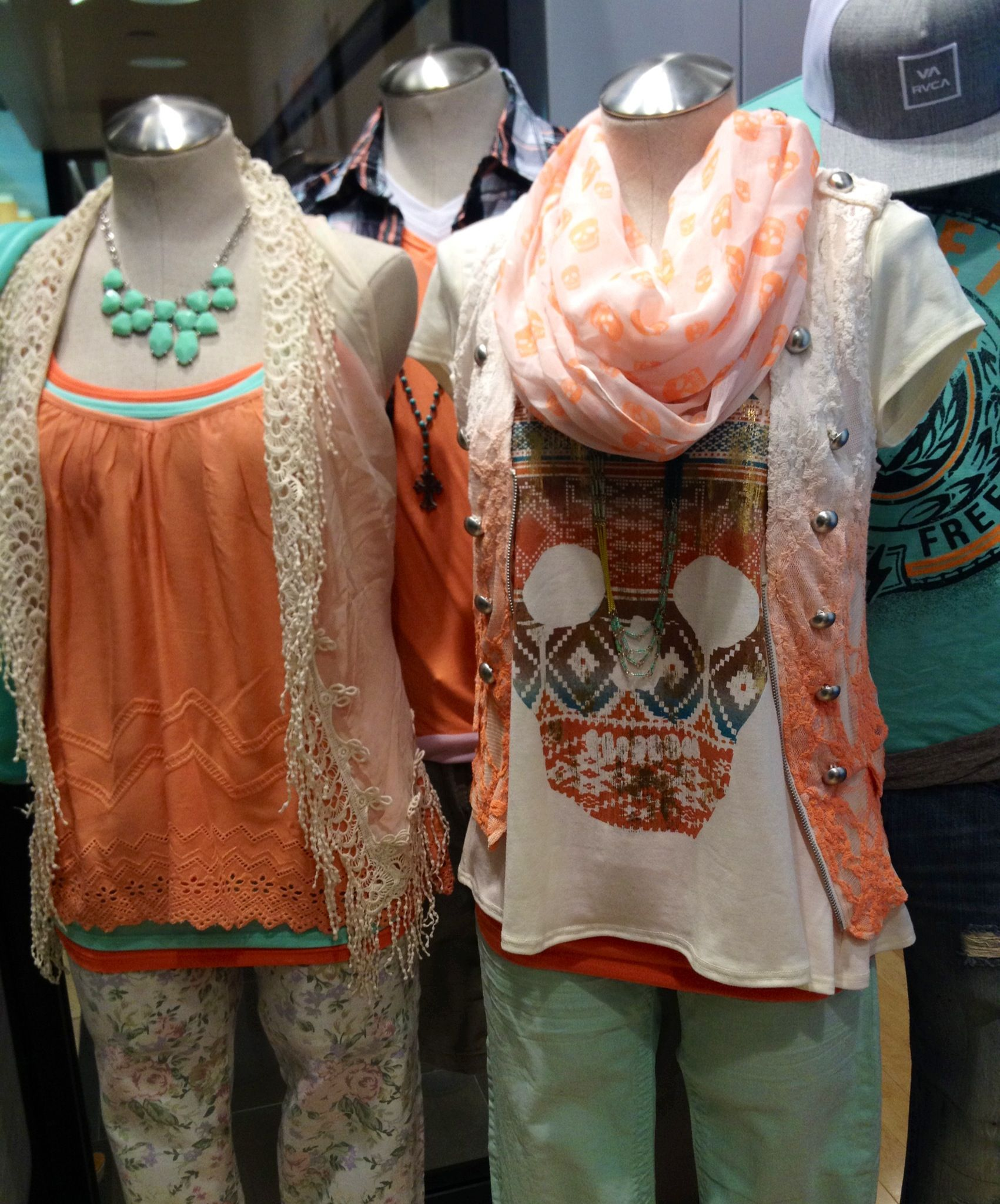 #thebuckle #store40 #coral #mint #springfashion