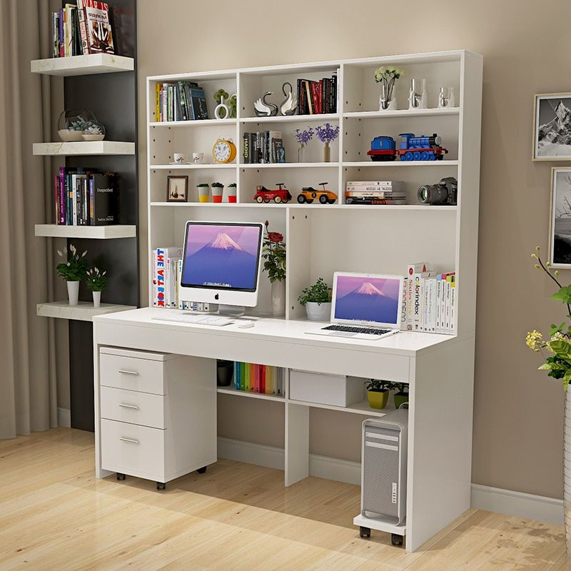 Cheap Bedroom Desk Buy Quality Computer Desk Directly From China Desk With Bookcase Suppliers Computer Desk With A Bookcase Desk Bookshelf Desk Bedroom Desk