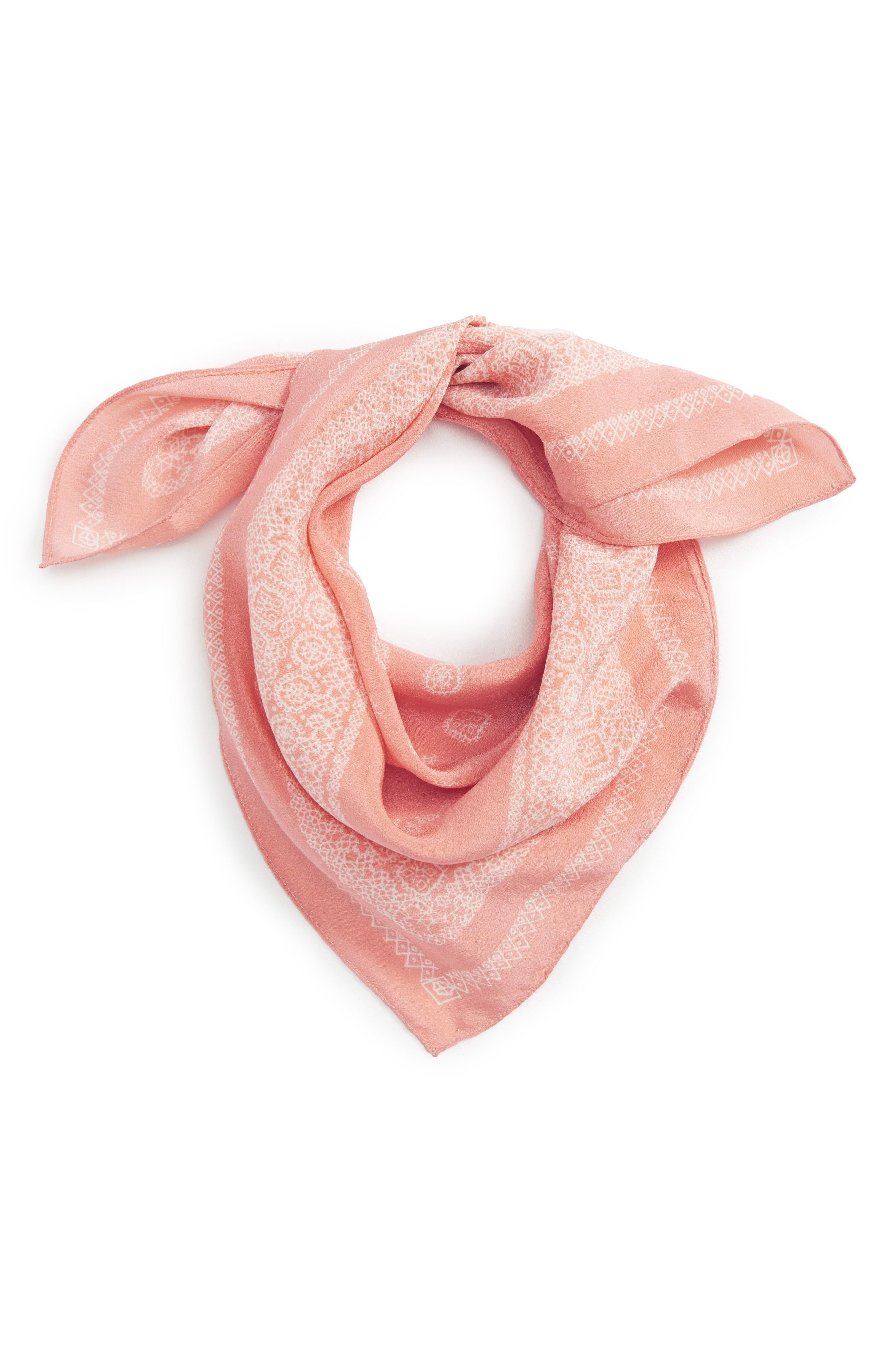 madewell silk bandana  be8663eb61d5