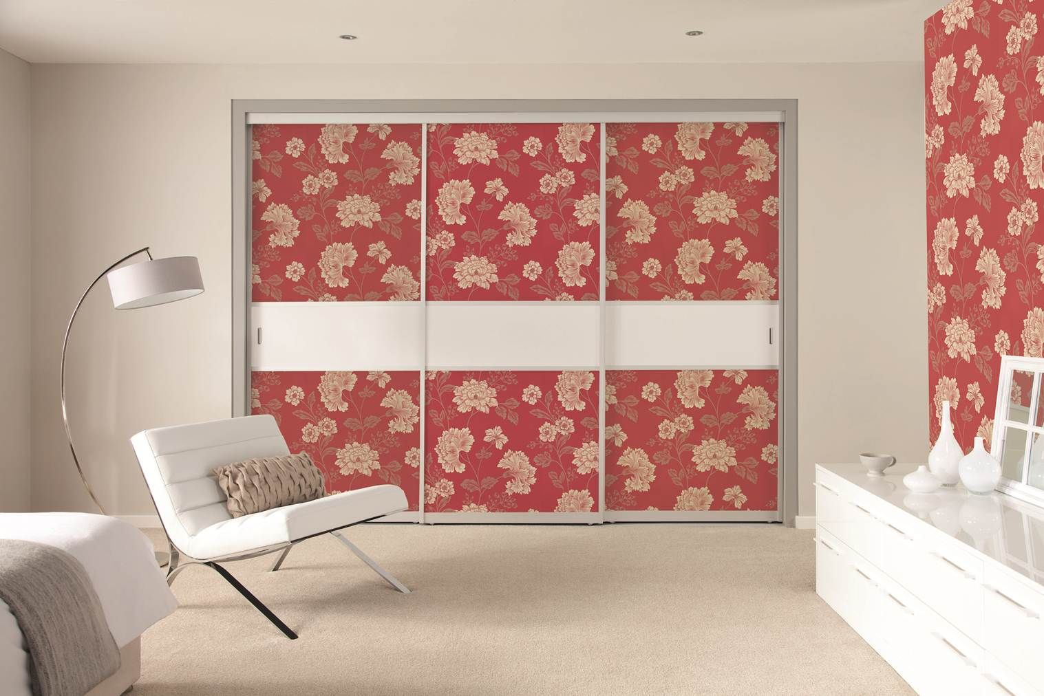 Best Wallpaper Your Sliding Doors To Co Ordinate With Your 400 x 300