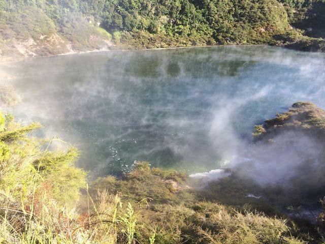 Waimangu Volcanic Valley, NZ