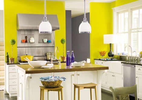 paleta de colores cocina verde limon - Buscar con Google ...