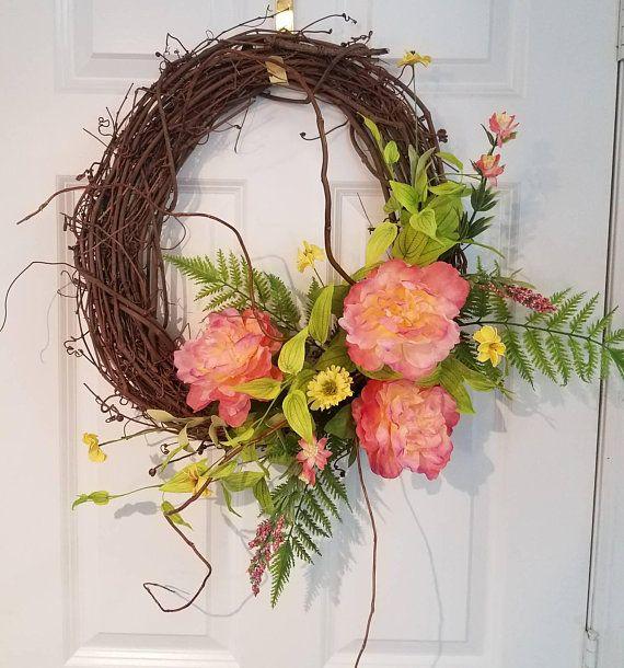 Attrayant Spring Wreath,Summer Wreath,Front Door Wreath,wreath For Front Door,Spring