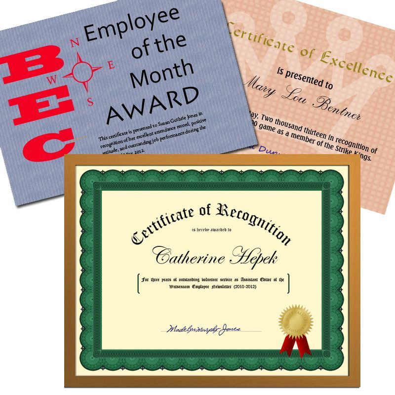 Recognize Achievement With the Right Certificate Wording - certificate wording