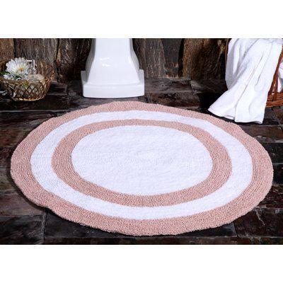 Saffron Fabs 100 Soft Cotton Reversible Two Tone Bath Rug Color