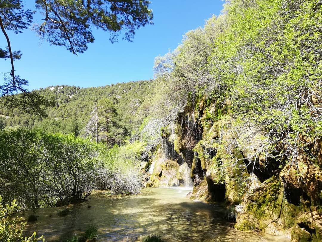 Hoy Es El Día De Castilla La Mancha Y Lo Hemos Celebrado En El Monumento Natural Del Nacimiento Del Río Cuervo Uno De Los Lu Instagram Instagram Posts Outdoor