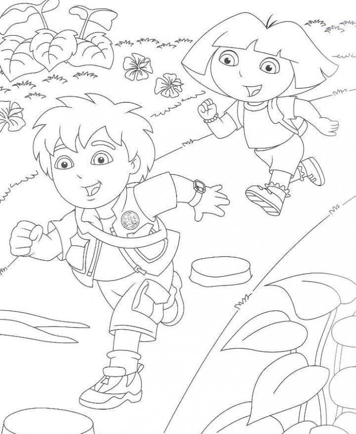 Free Printable Diego Coloring Pages For Kids | Coloring pages ...
