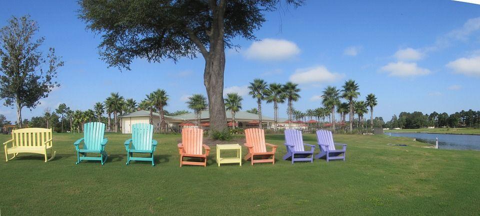 Pixabayの無料画像 Adirondack の椅子 草 色 熱帯 リゾート
