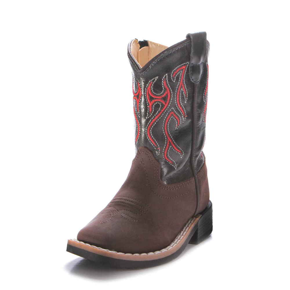 Old West Toddler Boys Red Lightening Western Boots Bsi1868 Boots Toddler Boots Western Boots