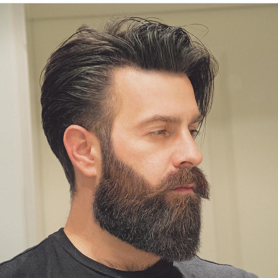 Mens haircuts with beards hairmenstyle  bearded  pinterest  beard styles and style men