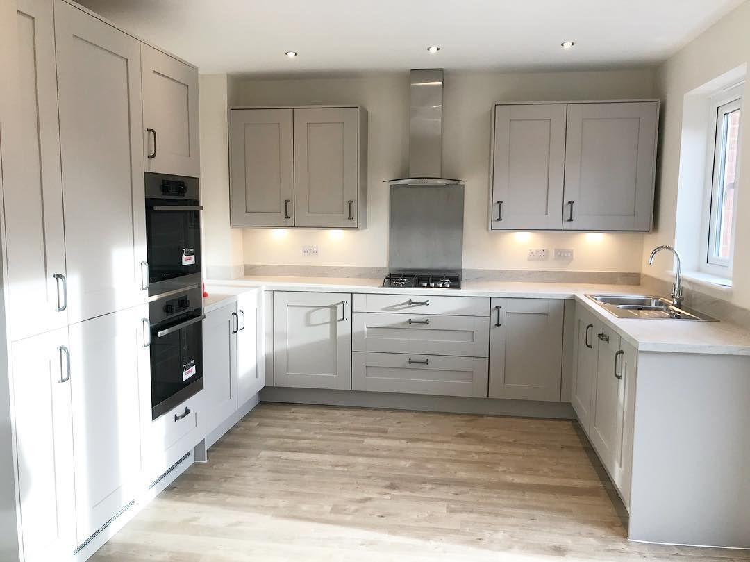 Sun Bleached Oak Kitchen Design Small Kitchen Inspirations Kitchen Design