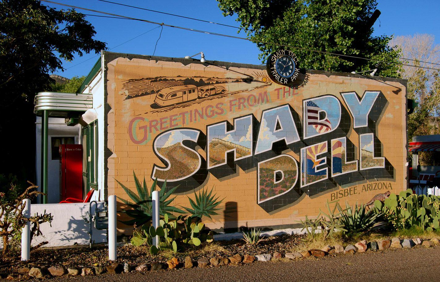 The Shady Dell Bisbee Arizona Plus 18 Wacky Hotels In United