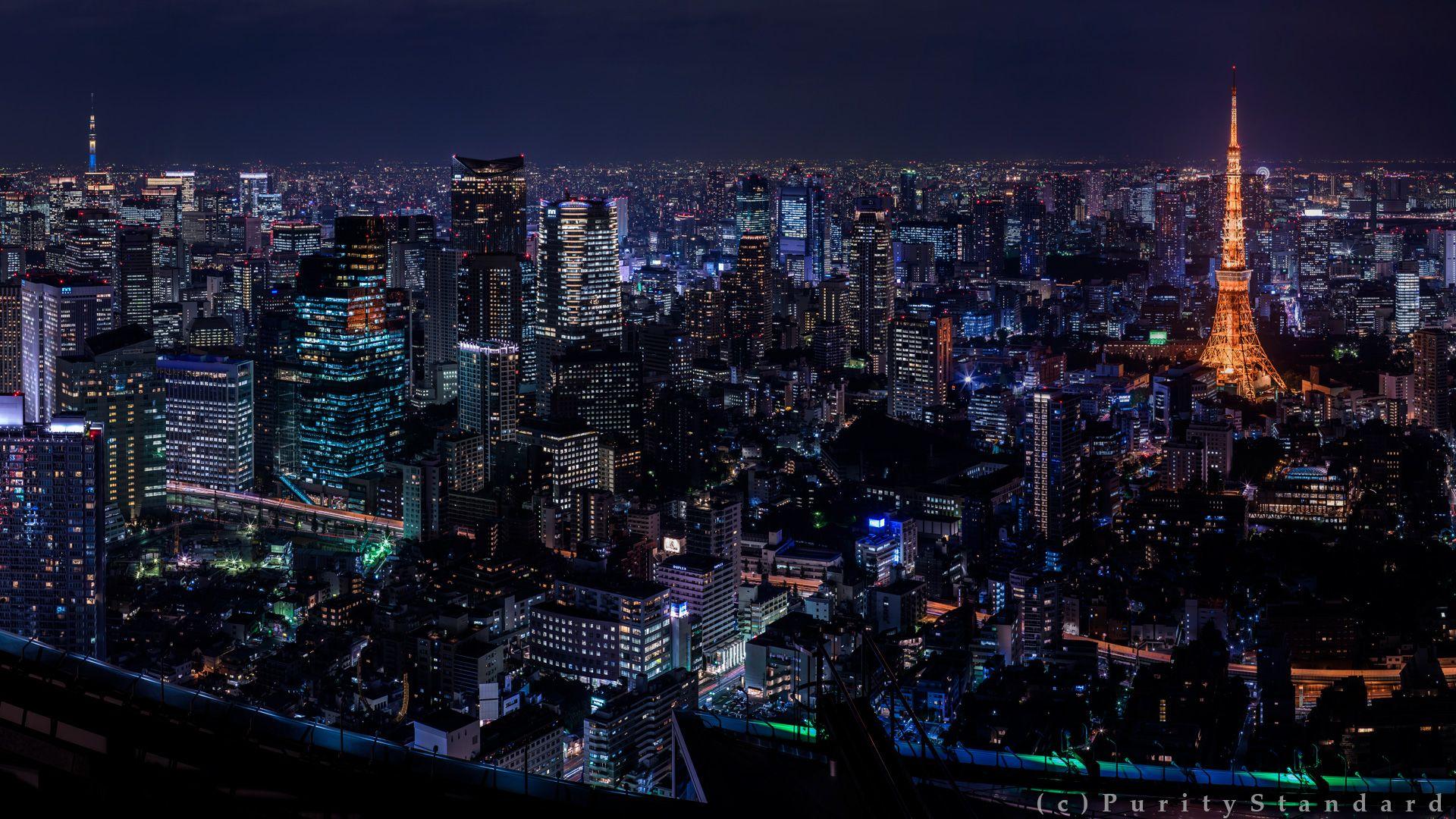 Обои На Рабочий Стол Ночной Город