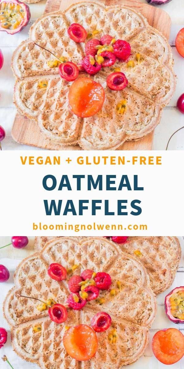 Vegan Breakfast Waffles | Healthy, Gluten-Free #glutenfreebreakfasts